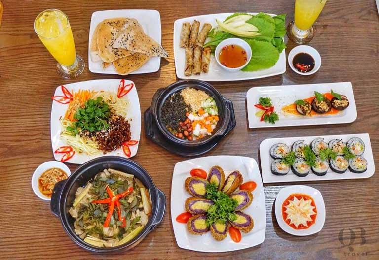 Nhà hàng Quê Nhà có hương vị đồ chay ấn tượng đặc biệt khó quên