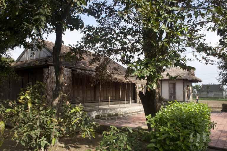 Căn nhà nơi bác Giáp sinh ra và lớn lên