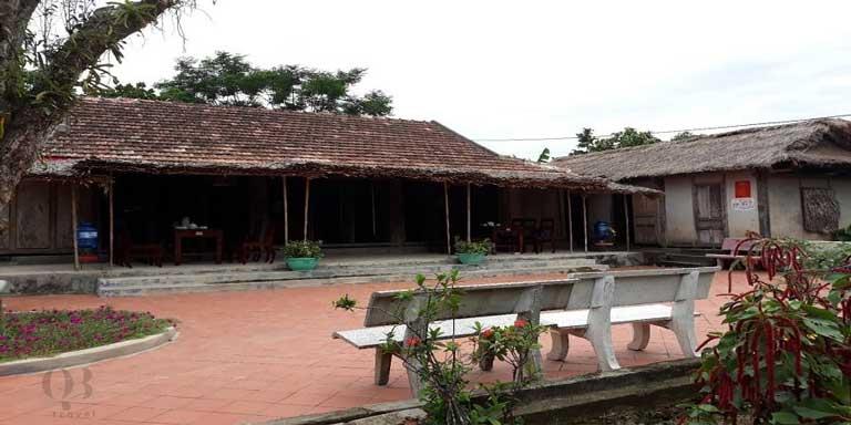 Ngôi nhà được xây dựng tại Lệ Thủy, tỉnh Quảng Bình