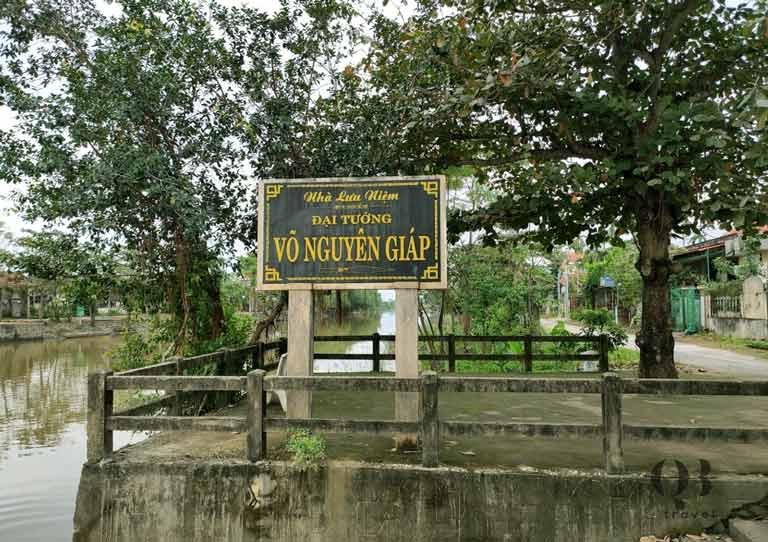 Nhà lưu niệm Đại tướng Võ Nguyên Giáp - di tích lịch sử Quảng Bình