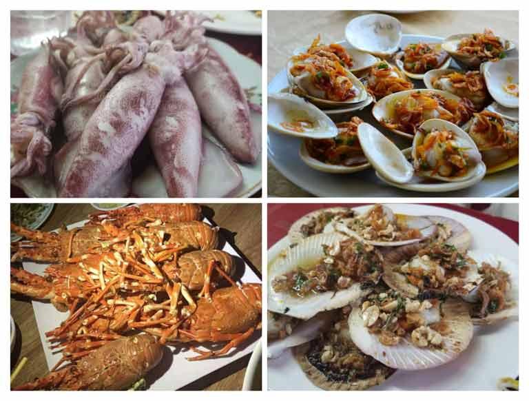 Quán nhậu biển Lương Chinh sẽ cho bạn thưởng thức món hải sản tuyệt vời